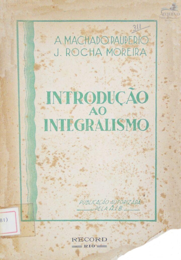 INTRODUÇÃO AO INTEGRALISMO